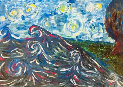 Inspirowani twórczością Vincent'a van Gogh'a.