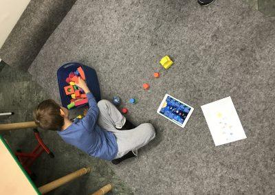Flob a dob - podczas zajęć | Klub edukacyjny dla dzieci | Warszawa, Żoliborz