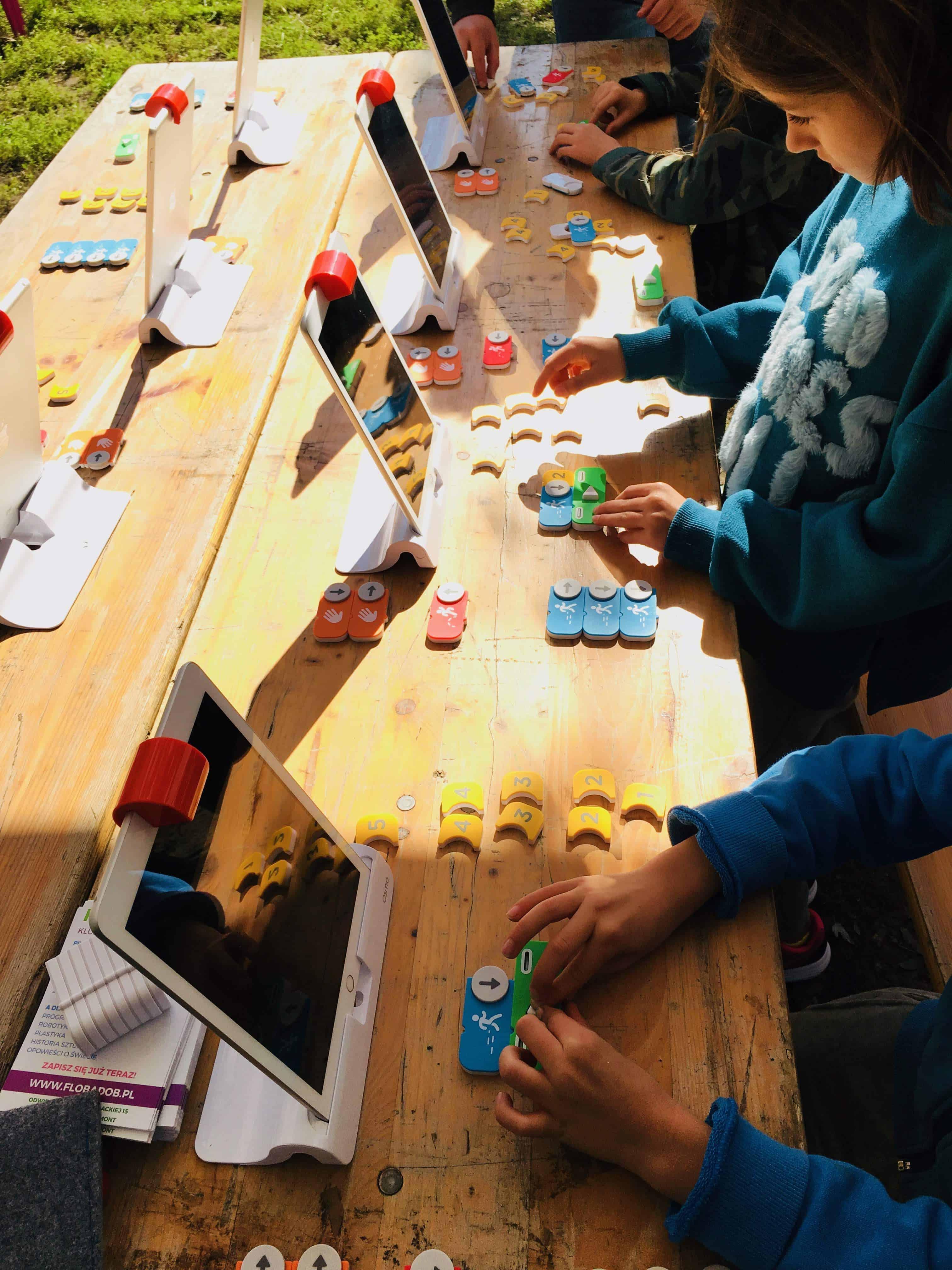 Targ śniadaniowy - darmowe zajęcia z programowania dla dzieci - Flob a dob